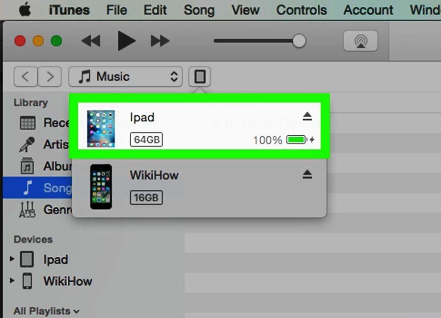 Обновление прошивки через iTunes