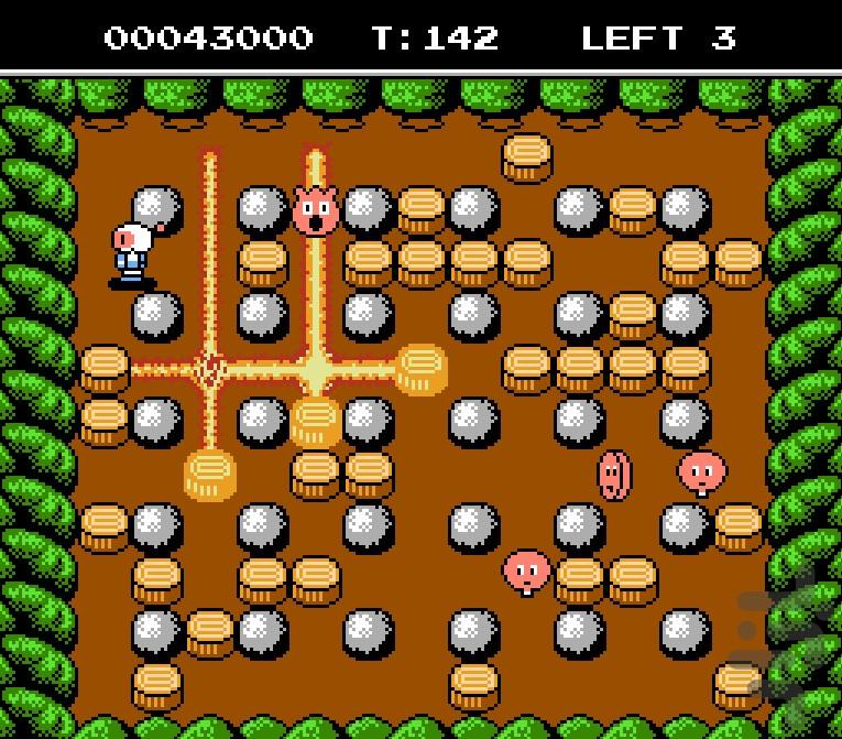 """""""Бомбермен 2"""" для NES."""