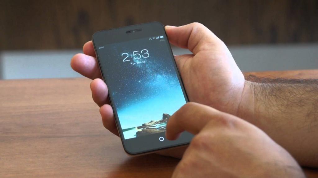 Meizu MX2 в руках владельца