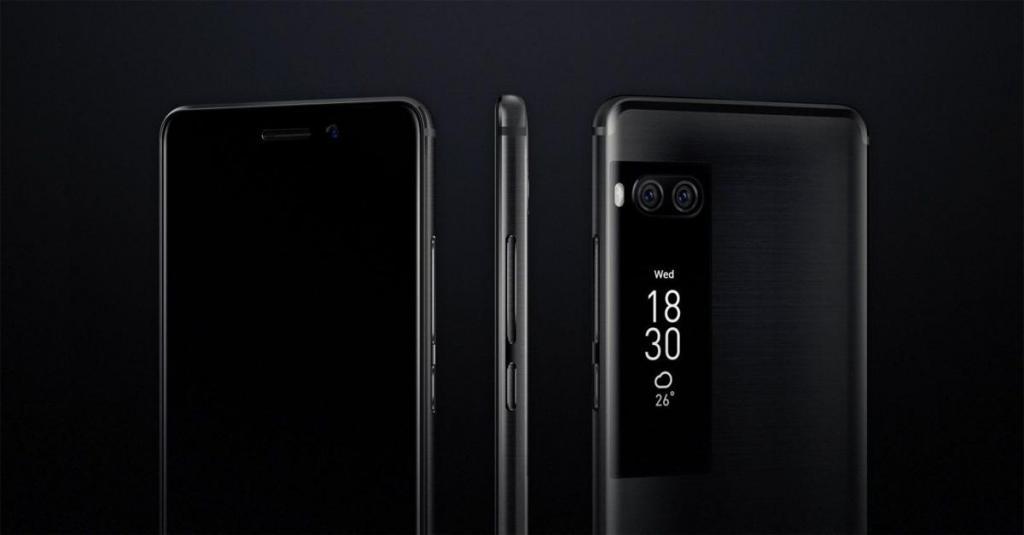 Meizu Pro 7 с двумя дисплеями