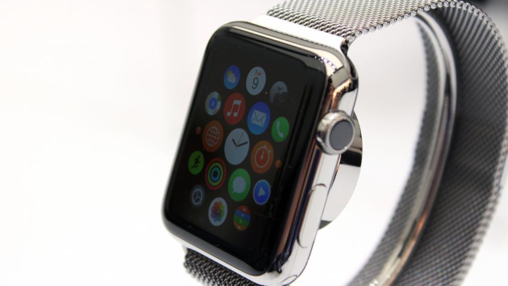 Меню Apple Watch