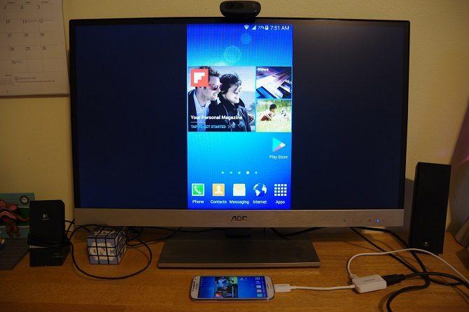 Как подключить телефон к Смарт ТВ через HDMI