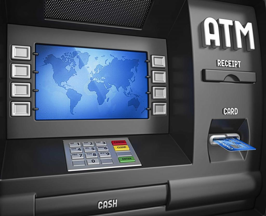 Современный банкомат