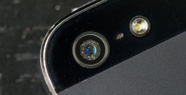 камера на айфоне 5s причины