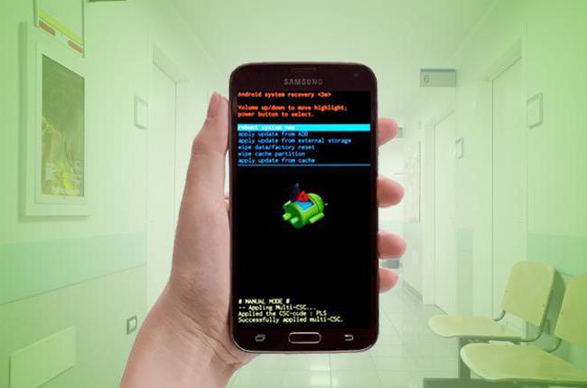 как прошить андроид с флешки через рекавери