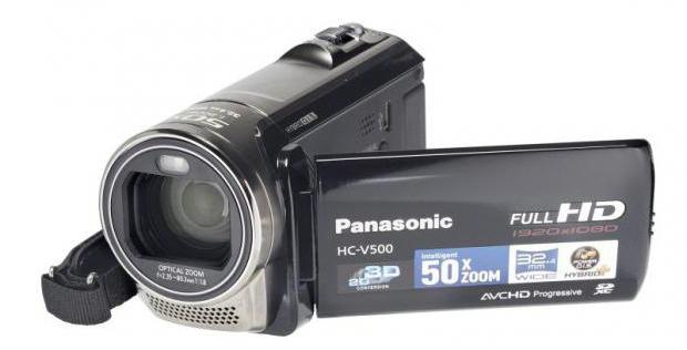 камера panasonic hc v500