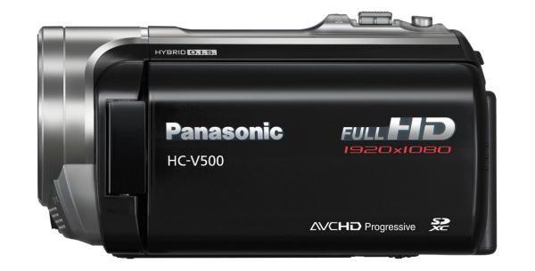 видеокамера panasonic hc v500