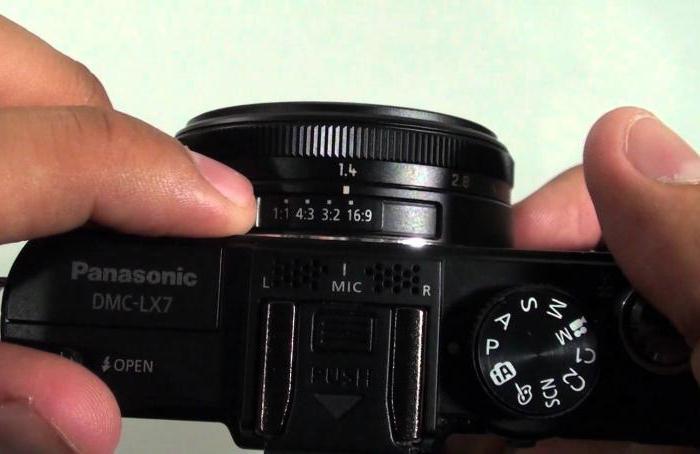 panasonic lumix lx7 описание фотоаппарата