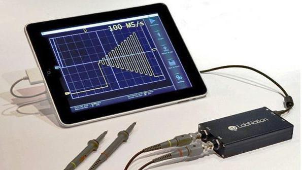 характеристики осциллографа для ремонта планшетов