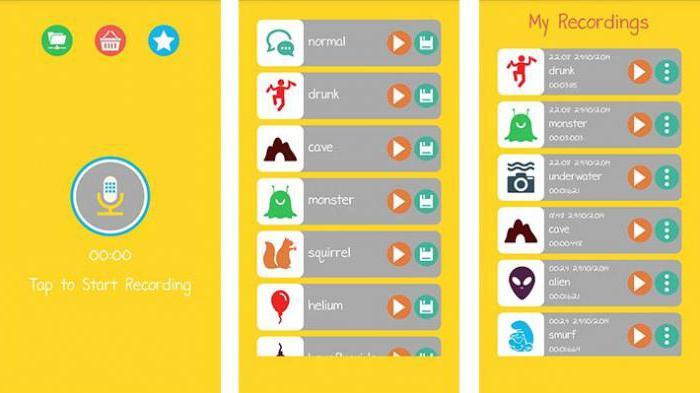 изменить голос в телефоне андроид
