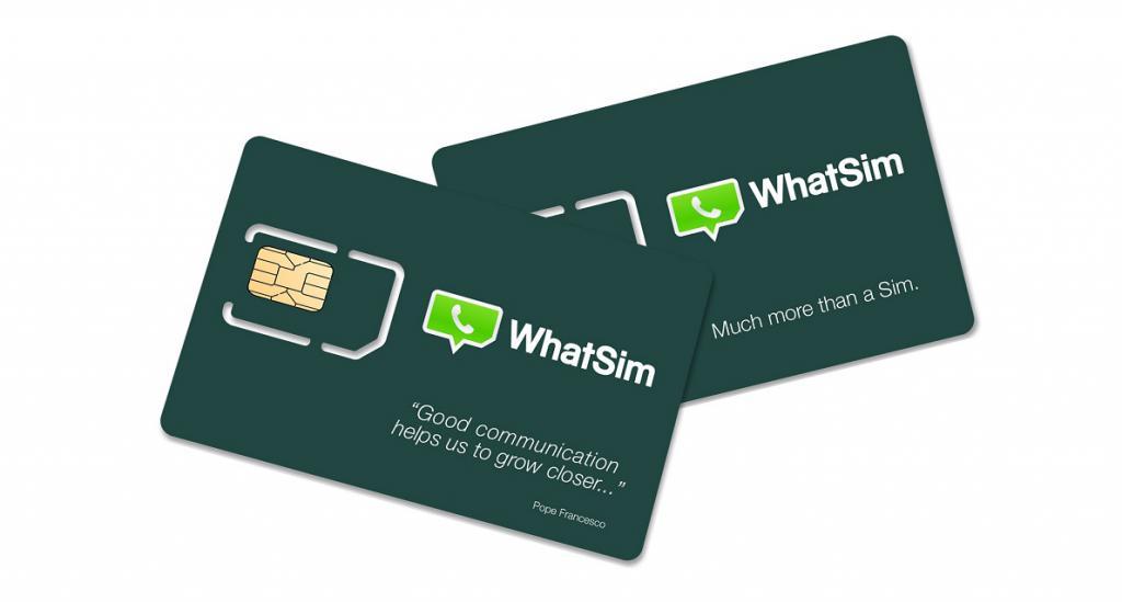 WhatSim SIM card
