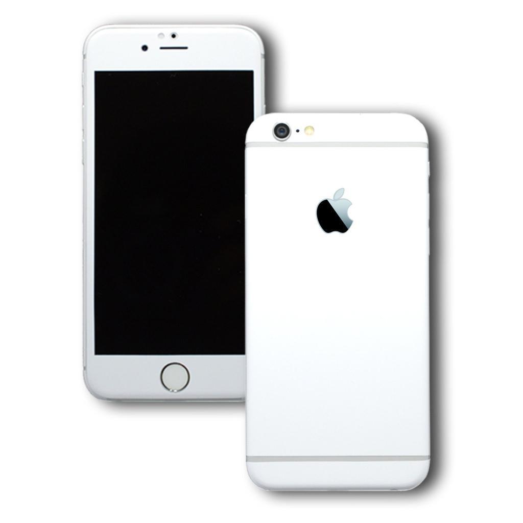 Белый айфон на фоне
