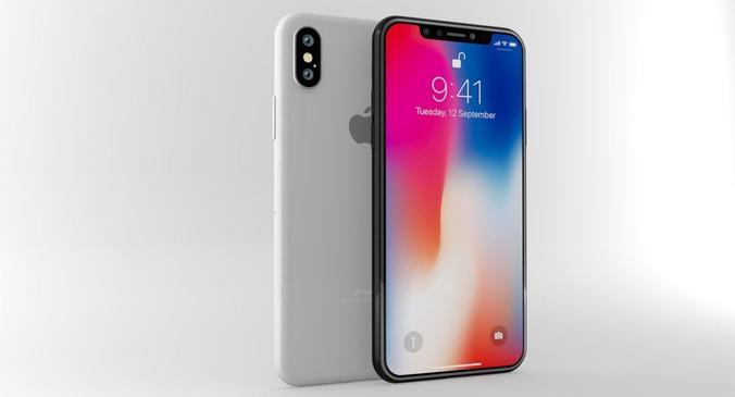 Белый айфон 10