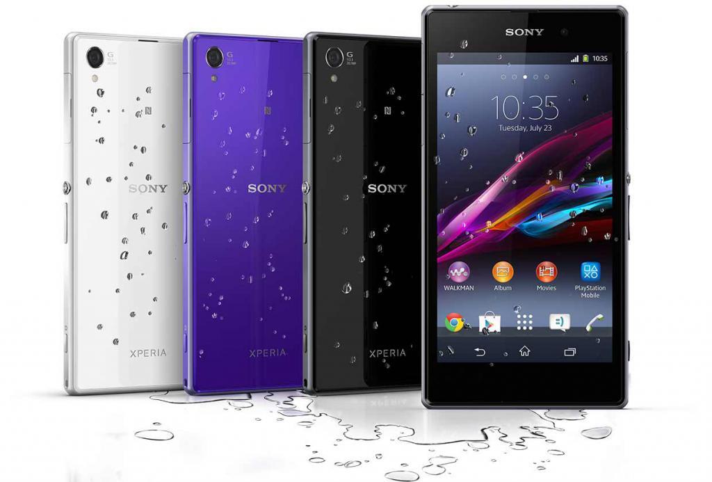 Модель Sony Xperia Z1