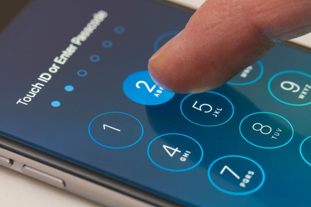 как отключить пароль на айфоне 6
