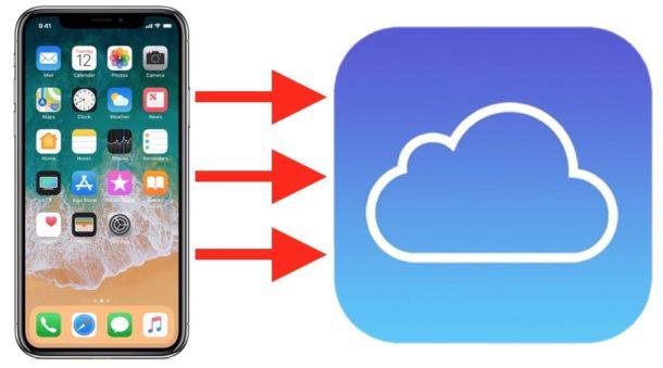 Синхронизация данных в iCloud