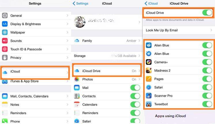 Работа с файлами при помощи iCloud