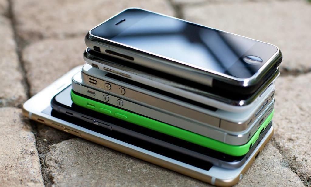 Подержанный смартфоны Apple