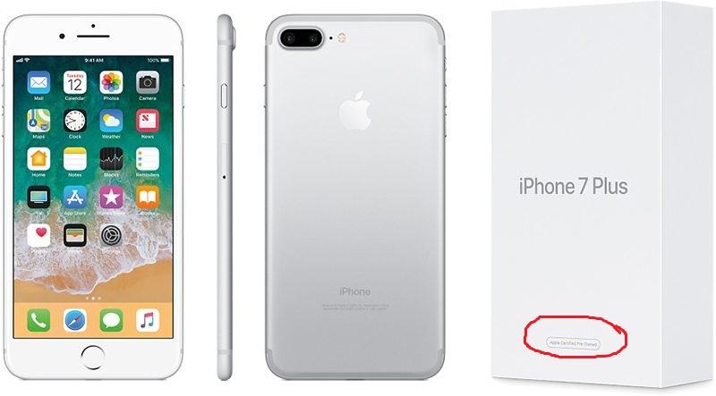 Восстановленный айфон не работает