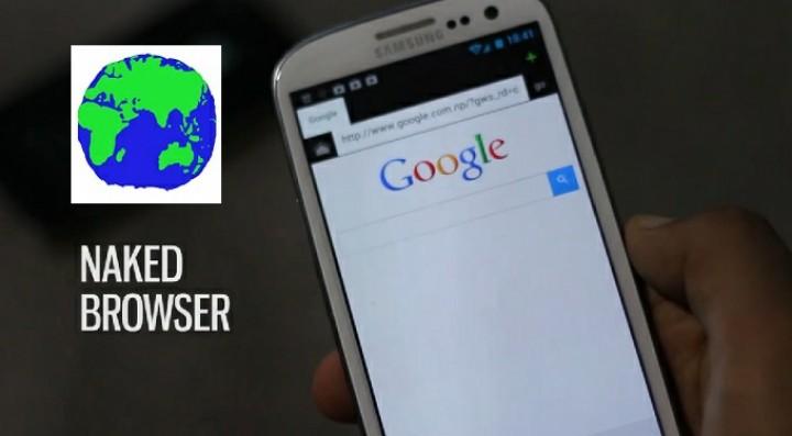 naked browser