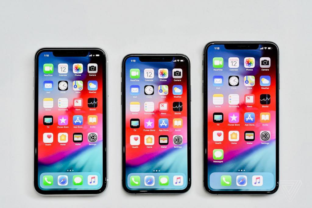 разные модели телефона
