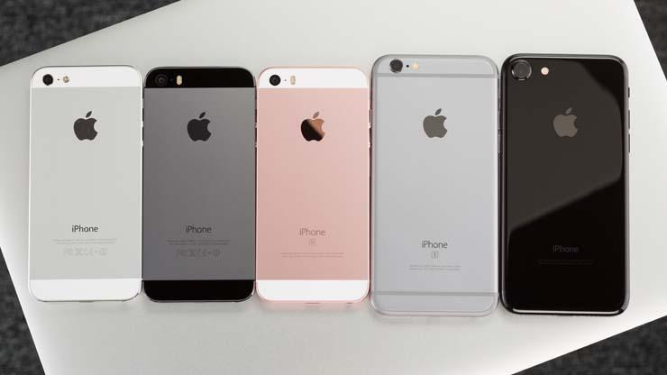 какой размер экрана у айфона 7